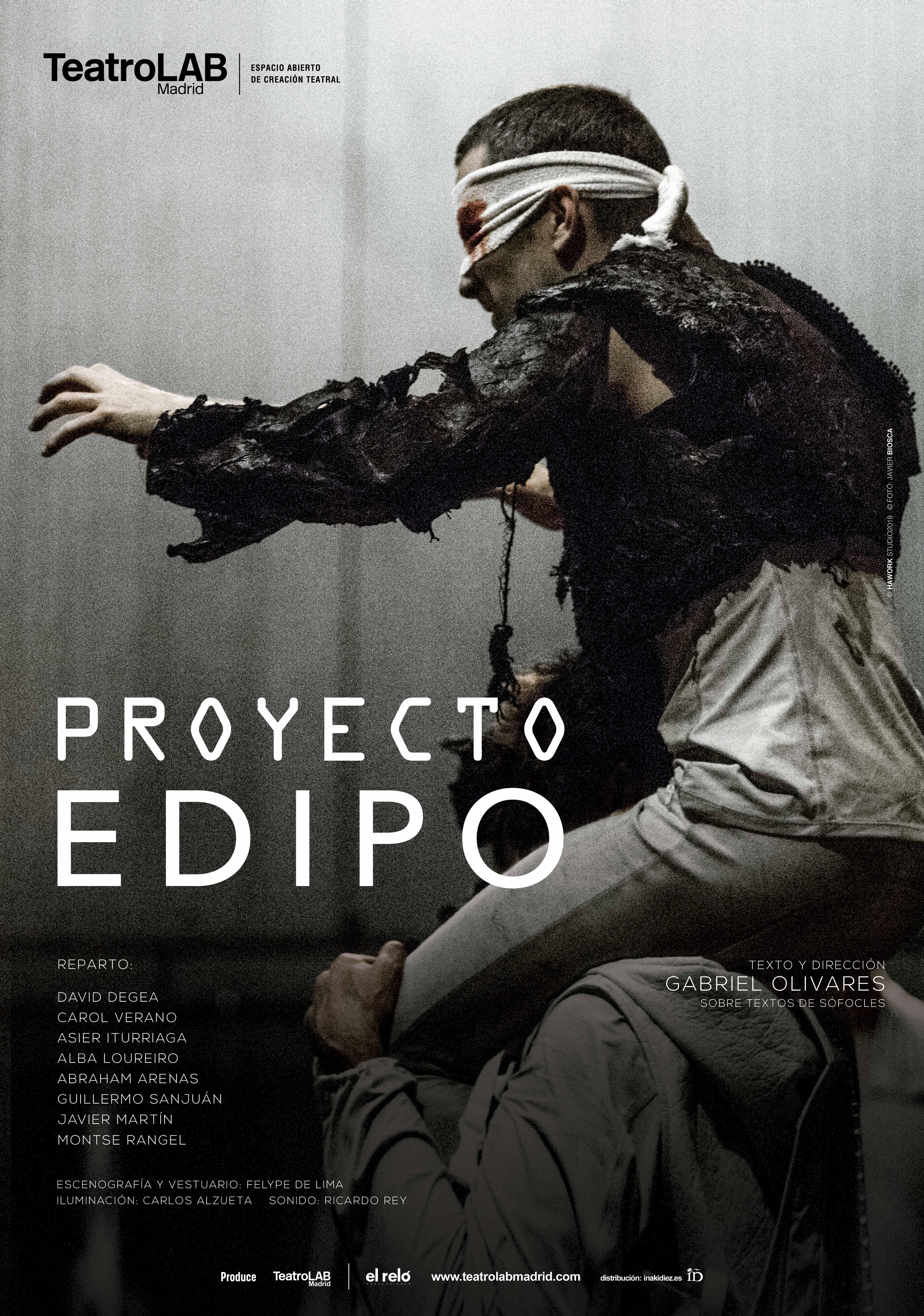 cartel Proyecto Edipo