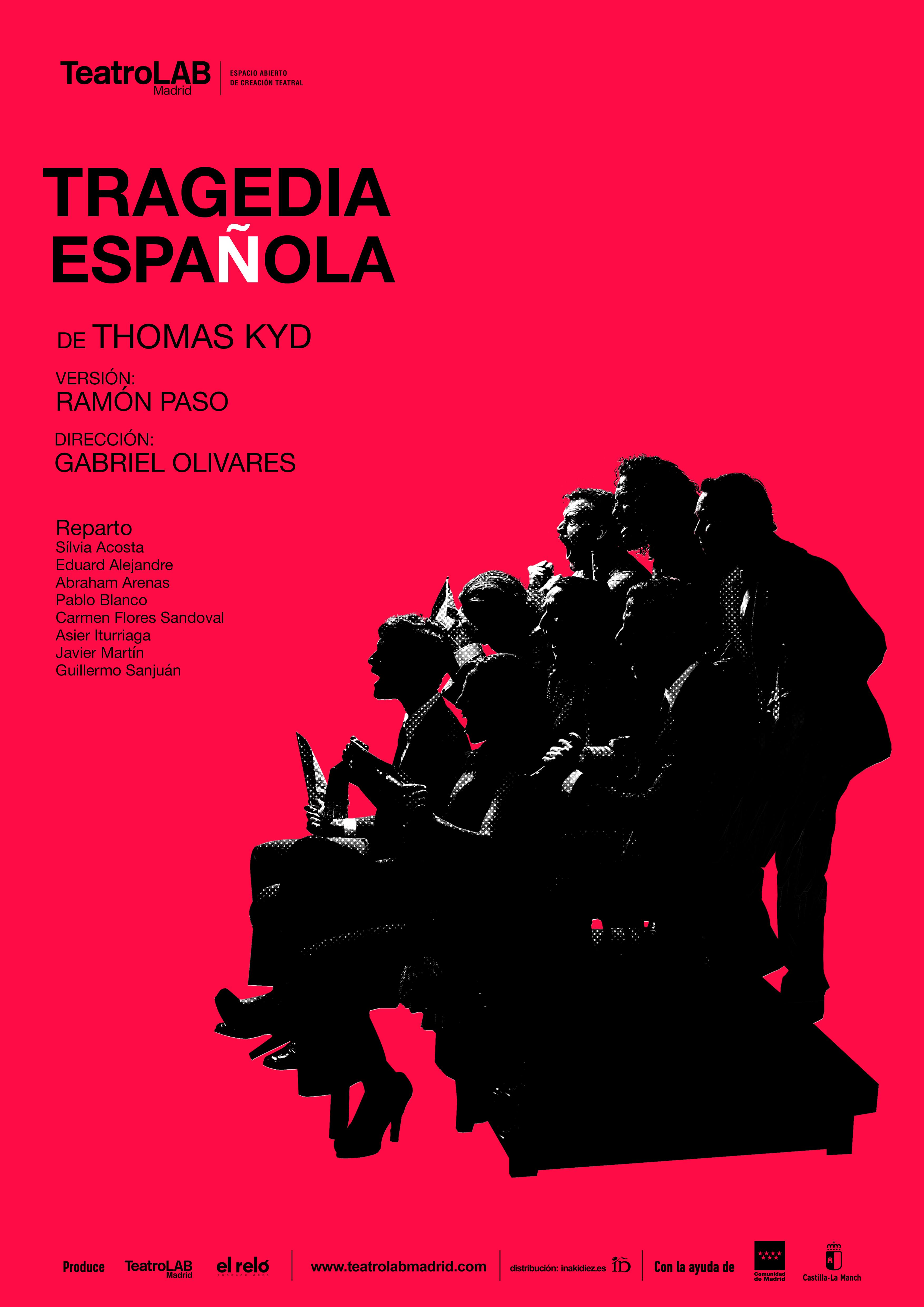 cartel Tragedia Española